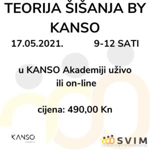 Teorija šišanja by KANSO ponovo u SVIM-u -17.5.2021.